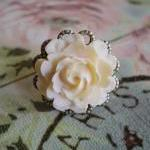 Cabbage Rose Ring
